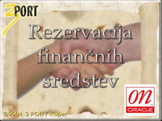 POGO - Vodenje pogodb in rezervacija finančnih sredstev