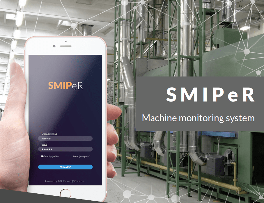 SMIPer Machine monitoring system