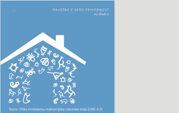 Projekt ONE 4.0 eu-skladi.si