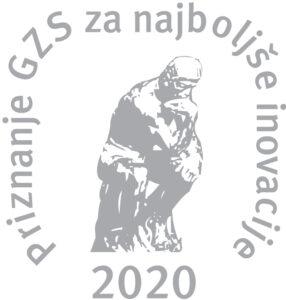 Srebrno priznanje GZS 2020 logo